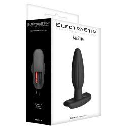 Silicone Noir Rocker Small Butt Plug - Electrastim
