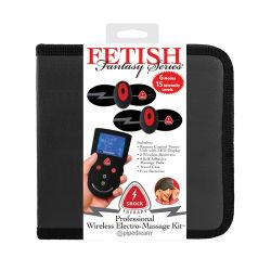 Fetish Fantasy Series Shock Therapy Professional Wireless Electro-Massage Kit
