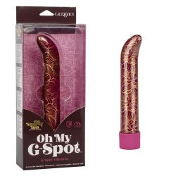 Naughty Bits 10 Function Oh My G-Spot Waterproof G-Spot Vibrator - Red