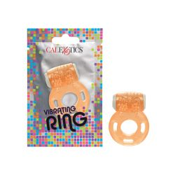 Foil Pack Vibrating Ring - Orange