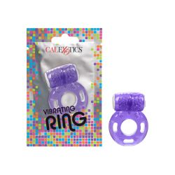 Foil Pack Vibrating Ring - Purple