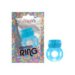 Foil Pack Vibrating Ring - Blue