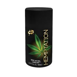 Wet Hemptation Natural Lubricant - 5oz