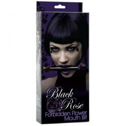 Black Rose Forbidden Flower Mouth Bit