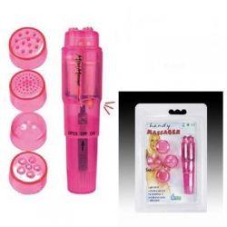 Waves of Pleasure Pocket Rocket Single Speed Stimulator - Pink