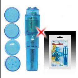 Waves of Pleasure Pocket Rocket Single Speed Stimulator - Blue