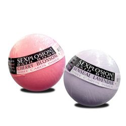 Sexplosion! Bath Bombs - Cherry and Lavender