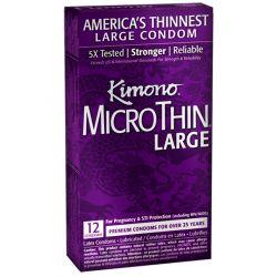 Kimono Micro Thin Large - 12 pk