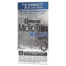 Kimono Micro Thin XL - Extra Large - 12 pk