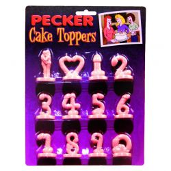 Pecker Cake Toppers (12 pcs)