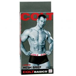 COLT - Basic Mesh Brief - Small - Black/White
