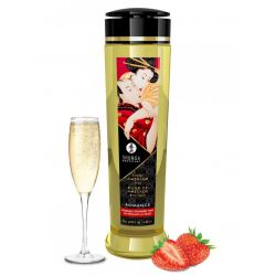 Erotic Massage Oil - Strawberries & Champagne