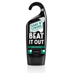 Sir Richard's Beat It Out - Water based Soak N' Stroke 8 oz. Shower Lube